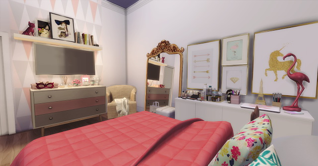 Cute Pinterest Room at Mony Sims image 1537 Sims 4 Updates