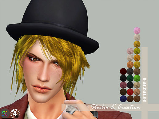 Raito animate hair 74 at Studio K Creation image 1544 Sims 4 Updates
