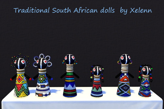 Curio set: African dolls & Christmas stockings at Xelenn image 16110 Sims 4 Updates