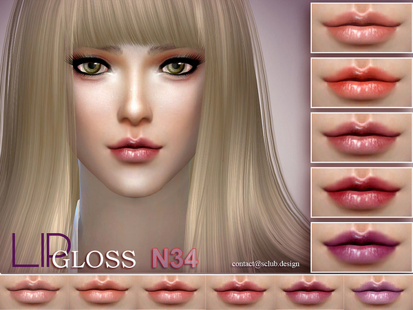 Lipstick 34 by S Club LL at TSR image 1620 Sims 4 Updates