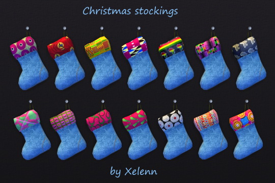 Curio set: African dolls & Christmas stockings at Xelenn image 1623 Sims 4 Updates