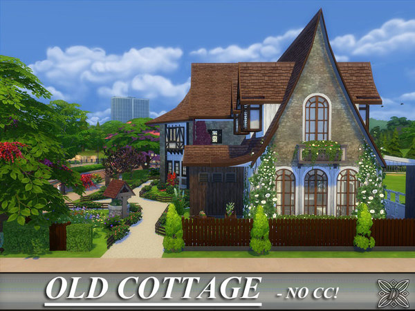 Sims 4 Old Cottage by Danuta720 at TSR