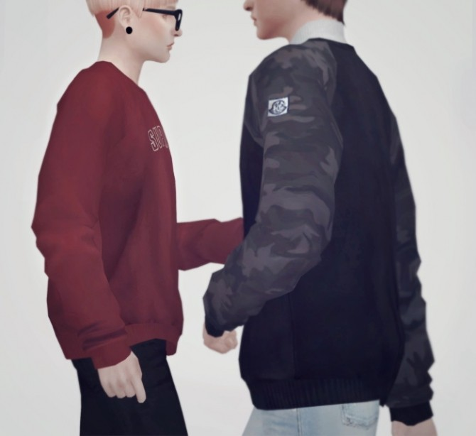 Sims 4 Sweatshirts 02 at KK's Sims4 – ooobsooo
