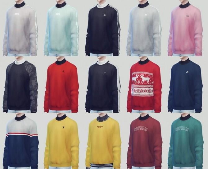 Sweatshirts 02 at KK's Sims4 – ooobsooo image 16611 670x543 Sims 4 Updates