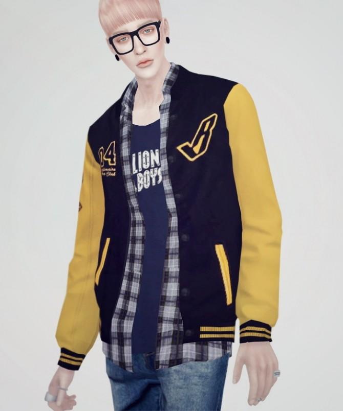 Sims 4 Bomber Jacket 01 at KK's Sims4 – ooobsooo