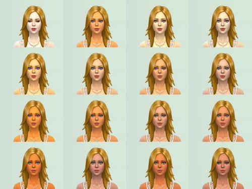 Sims 4 30 Skintones at Zerbu