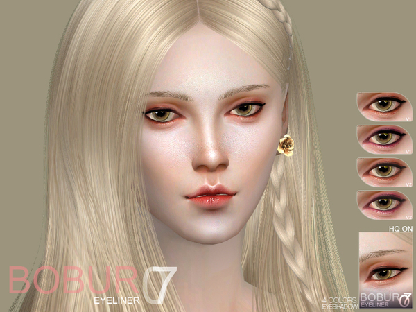 Eyeliner 07 by Bobur3 at TSR image 1718 Sims 4 Updates
