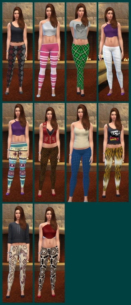 Different leggings at Louisa image 1782 430x1000 Sims 4 Updates