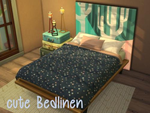 Sims 4 Cute bedlinen at ChiLLis Sims