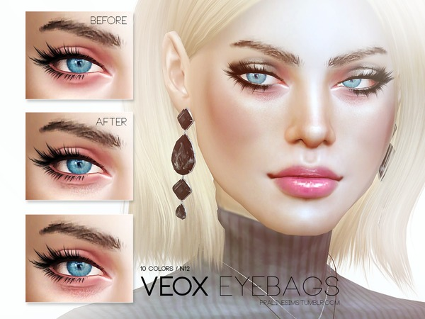 Veox Eyebags N12 by Pralinesims at TSR image 18 Sims 4 Updates