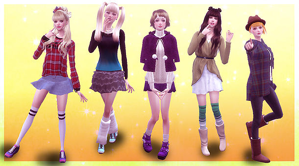 Sims 4 Pose Combination pose 10 at A luckyday