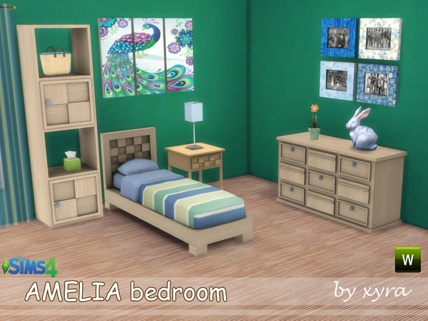 Amelia bedroom set by xyra33 at TSR image 1911 Sims 4 Updates