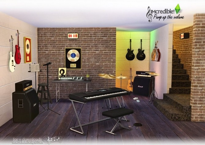 Pump up the Volume music goodies at SIMcredible! Designs 4 image 192 670x474 Sims 4 Updates