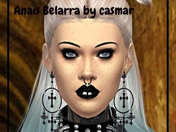 Sims 4 Anais Belarra by Casmar at TSR