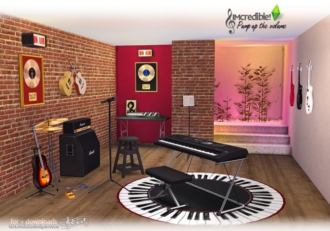 Pump up the Volume music goodies at SIMcredible! Designs 4 image 194 670x470 Sims 4 Updates