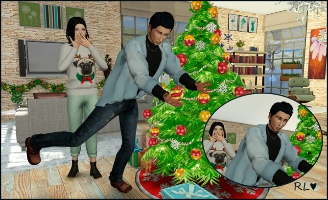 Sims 4 Christmas Poses.Jingle Bell Poses At Rethdis Love Sims 4 Updates