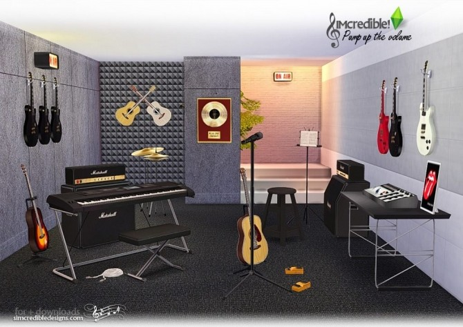 Pump up the Volume music goodies at SIMcredible! Designs 4 image 195 670x474 Sims 4 Updates
