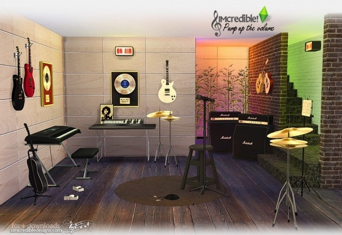 Pump up the Volume music goodies at SIMcredible! Designs 4 image 197 670x462 Sims 4 Updates