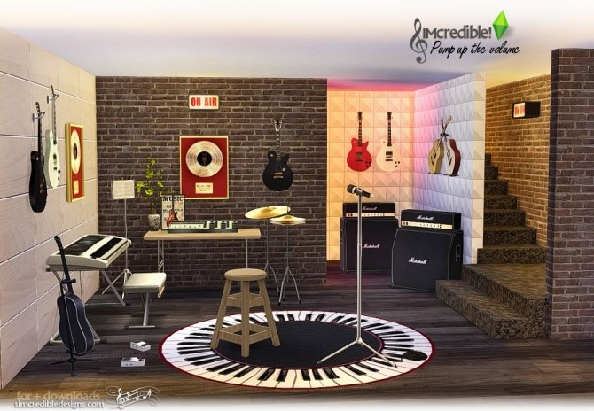 Pump up the Volume music goodies at SIMcredible! Designs 4 image 198 670x464 Sims 4 Updates