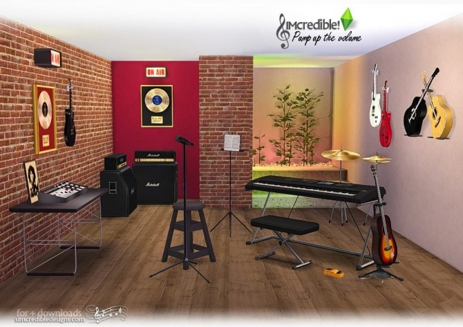 Pump up the Volume music goodies at SIMcredible! Designs 4 image 200 670x474 Sims 4 Updates