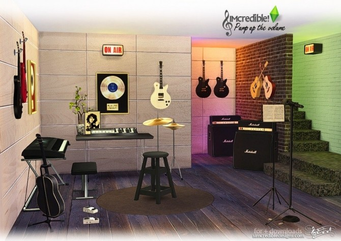 Pump up the Volume music goodies at SIMcredible! Designs 4 image 201 670x474 Sims 4 Updates