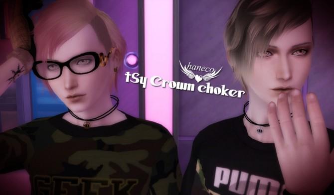 Crown choker at HANECO'S BOX image 20111 670x392 Sims 4 Updates