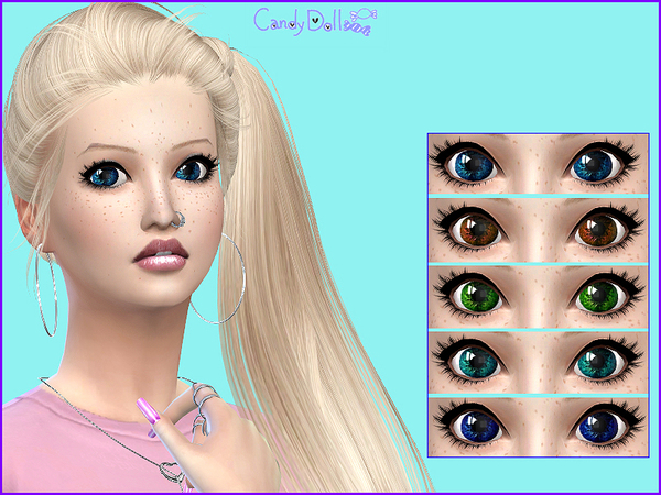 Sweety Eyes by CandyDolluk at TSR image 2022 Sims 4 Updates