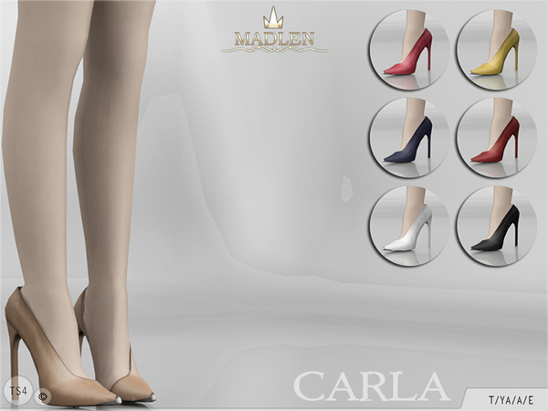 Madlen Carla Shoes by MJ95 at TSR image 2102 Sims 4 Updates