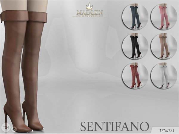 Madlen Sentifano Boots by MJ95 at TSR image 2105 Sims 4 Updates