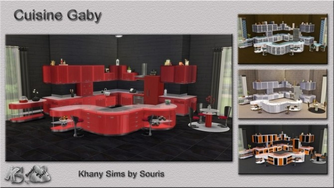 Gaby kitchen by Souris at Khany Sims image 2109 670x377 Sims 4 Updates