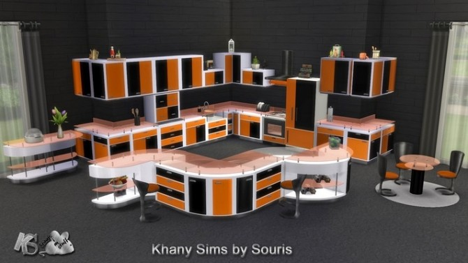 Gaby kitchen by Souris at Khany Sims image 2119 670x377 Sims 4 Updates