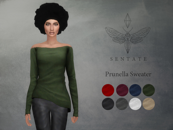 Sims 4 Prunella Sweater by Sentate at TSR