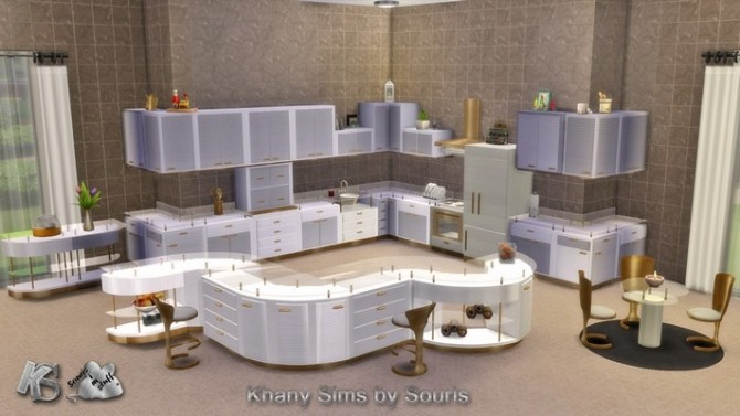 Gaby kitchen by Souris at Khany Sims image 2121 670x377 Sims 4 Updates