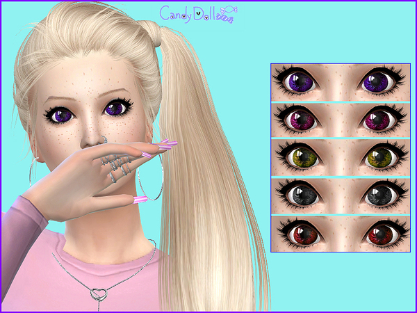 Sweety Eyes by CandyDolluk at TSR image 2124 Sims 4 Updates