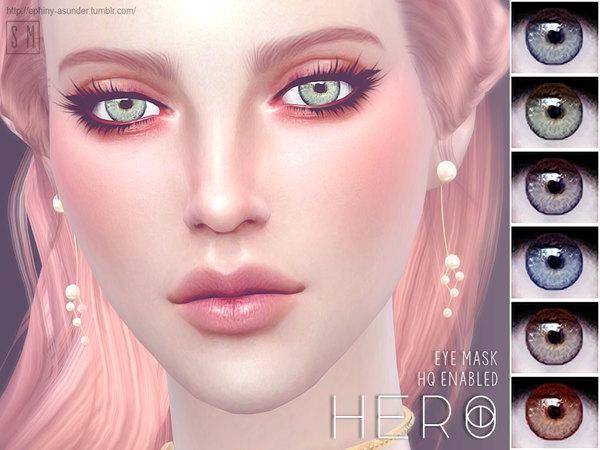 Sims 4 Hero Eye Mask by Screaming Mustard at TSR