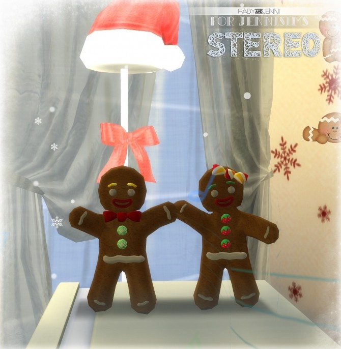 Stereo Christmas Gingerbread by Faby at Jenni Sims image 213 670x686 Sims 4 Updates