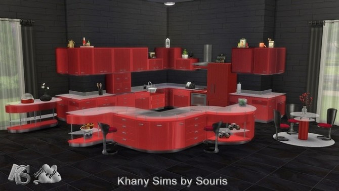 Gaby kitchen by Souris at Khany Sims image 2131 670x377 Sims 4 Updates