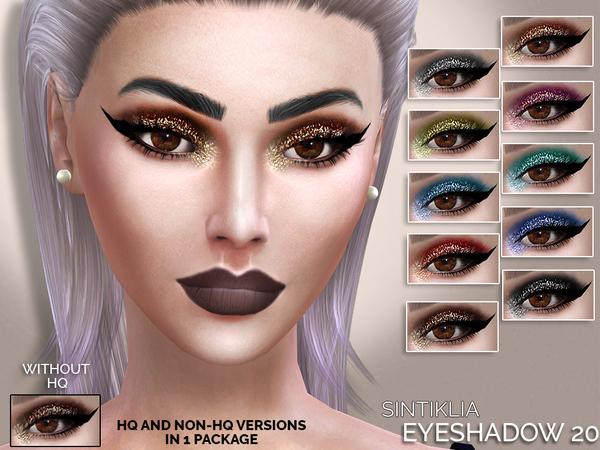 Sims 4 Eyeshadow 20 by Sintiklia at TSR