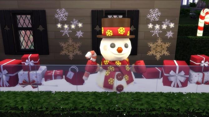 Sims 4 Santas Cove lot by Snowhaze at TSR