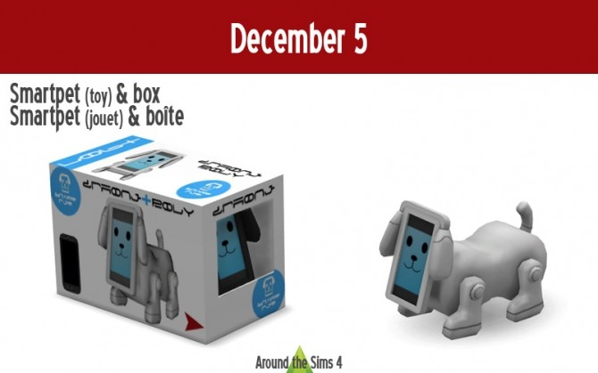 Sims 4 Smartpet toy & box Advent calendar at Around the Sims 4