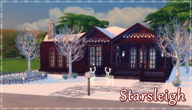 Sims 4 StarSleigh house by isabellajasper at Mod The Sims