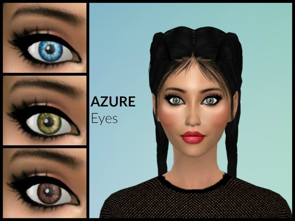 Azure Eyes by Euphoria Creations at TSR image 2611 Sims 4 Updates