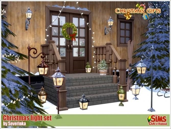 Christmas Lights Set at Sims by Severinka image 2626 670x505 Sims 4 Updates