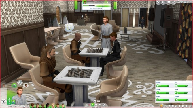 Sims 4 Star Wars Jedi Robes Darth Maul Recolor by lioness21 at Mod The Sims