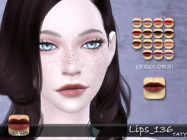Lips 136 by tatygagg at TSR image 29 Sims 4 Updates