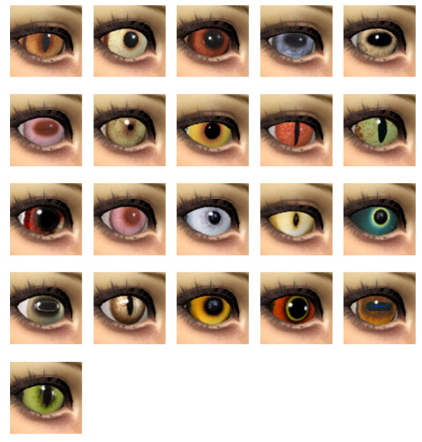 21 Animal eyes by Velouriah at Mod The Sims image 2915 Sims 4 Updates