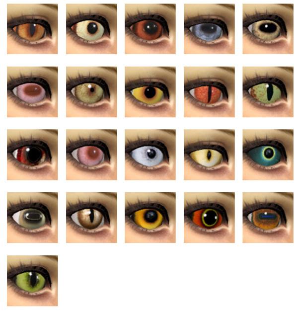 Sims 4 21 Animal eyes by Velouriah at Mod The Sims