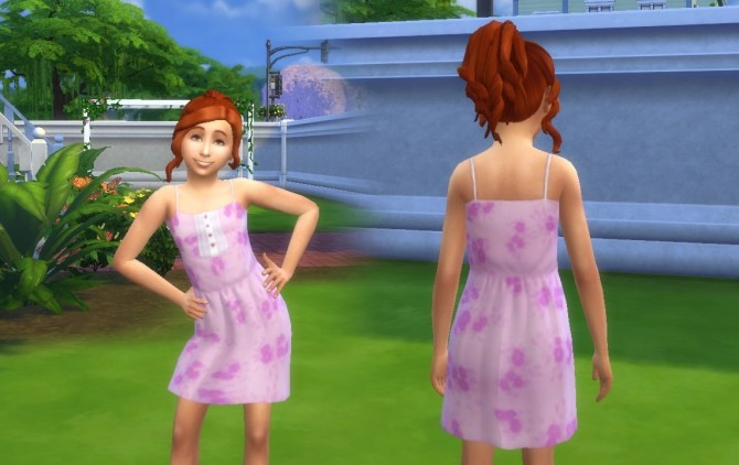 Sun Dress with Buttons at My Stuff image 304 670x422 Sims 4 Updates