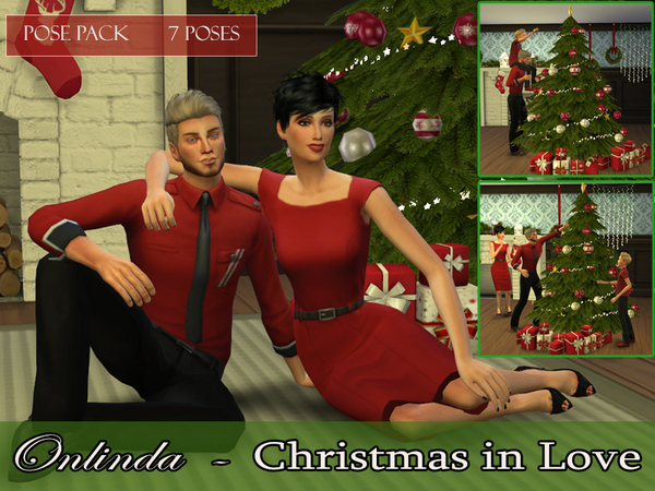 Sims 4 Christmas Poses.Christmas In Love Pose Pack By Stefaniaonlinda At Tsr Sims
