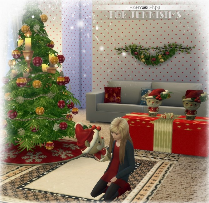 Toy Santa Bear Christmas by Faby at Jenni Sims image 3310 670x650 Sims 4 Updates